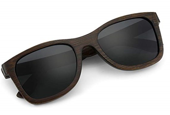 wood pattern sunglasses